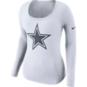 Dallas Cowboys Nike Scoop Logo Long Sleeve Tee