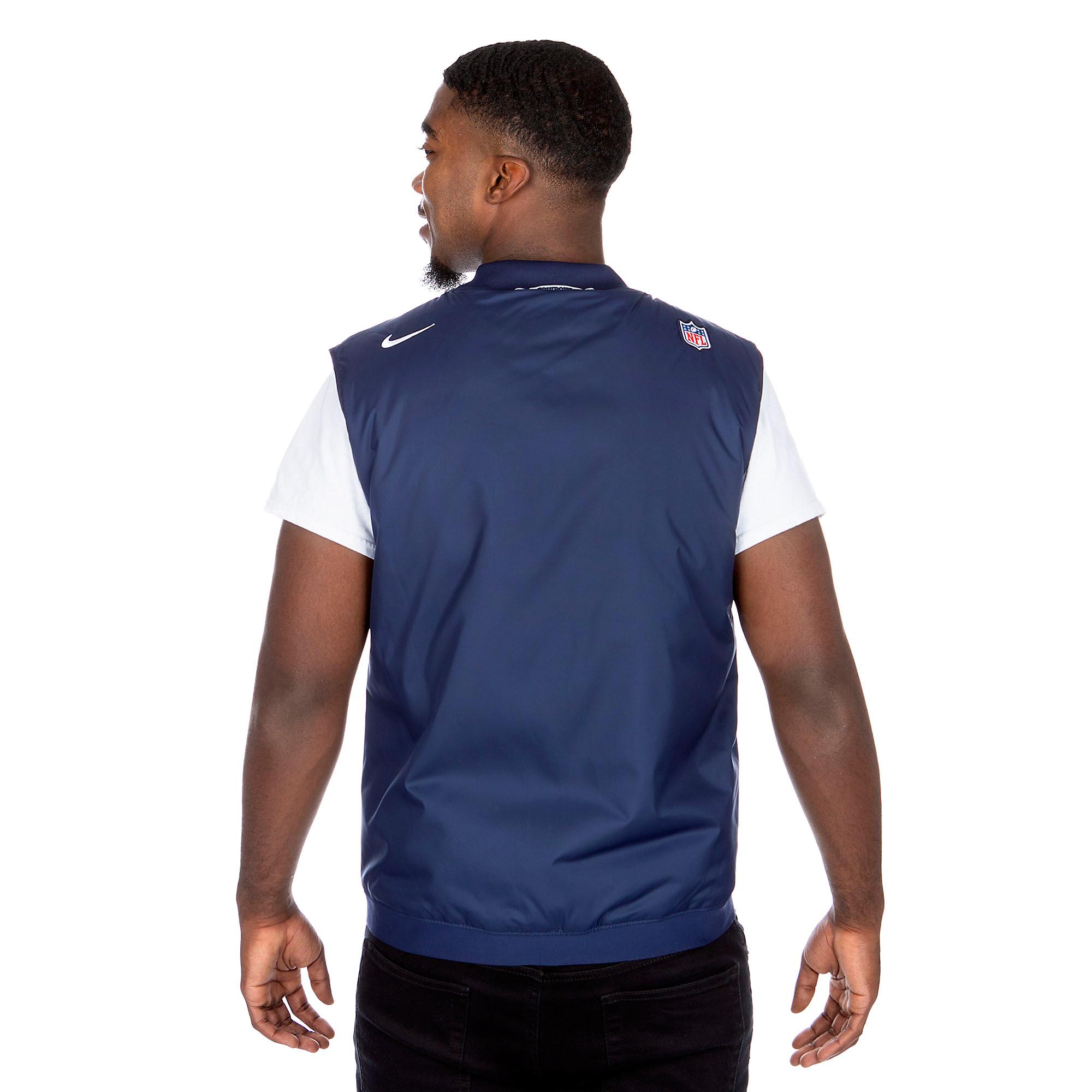 timeless design 24ada 2344d Dallas Cowboys Nike Sideline Vest | Fans United