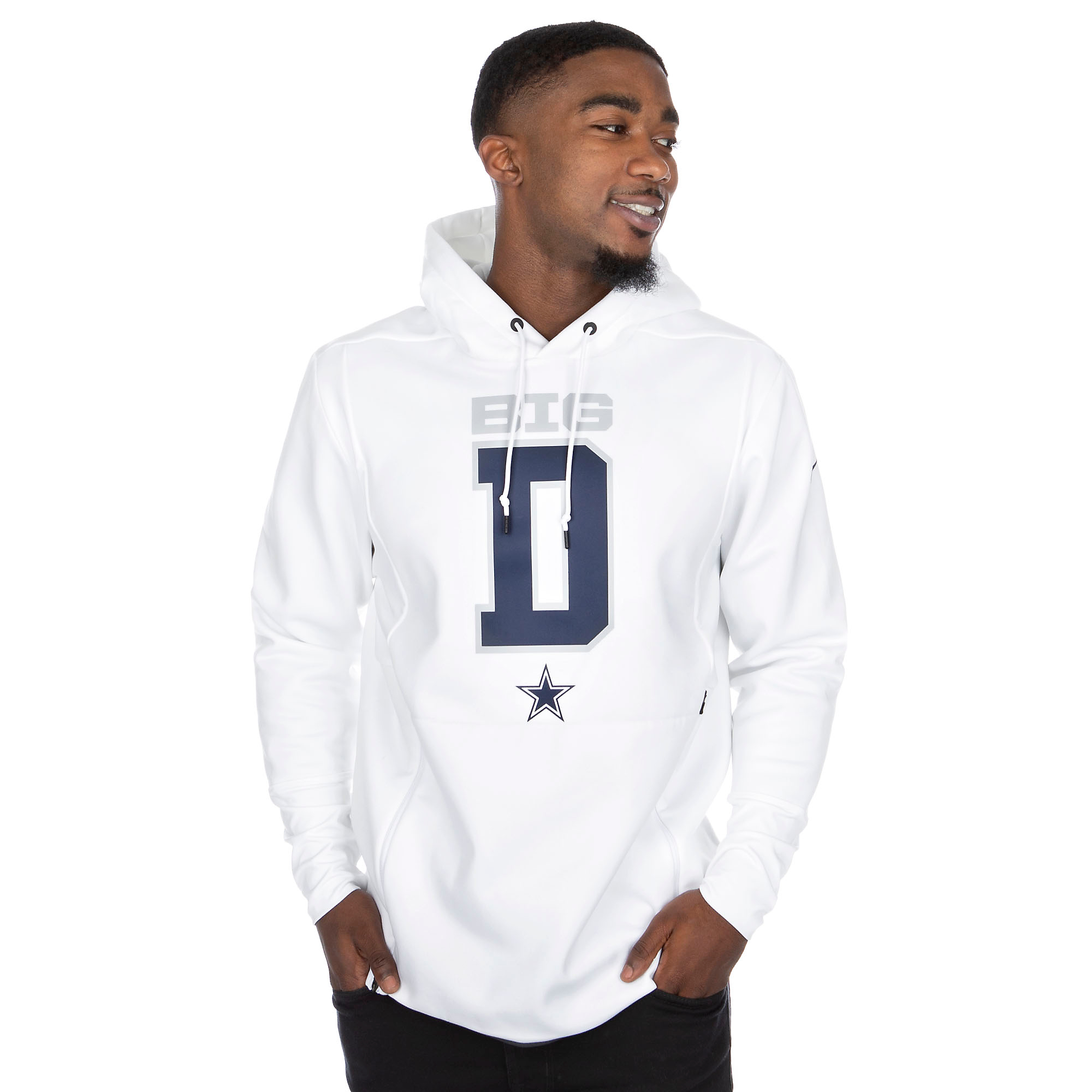 Dallas Cowboys Nike Local Sideline Player Fleece Hoody
