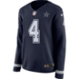 Dallas Cowboys Womens Dak Prescott #4 Nike Therma Jersey