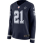 Dallas Cowboys Womens Ezekiel Elliott #21 Nike Therma Jersey