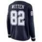 Dallas Cowboys Womens Jason Witten #82 Nike Therma Jersey