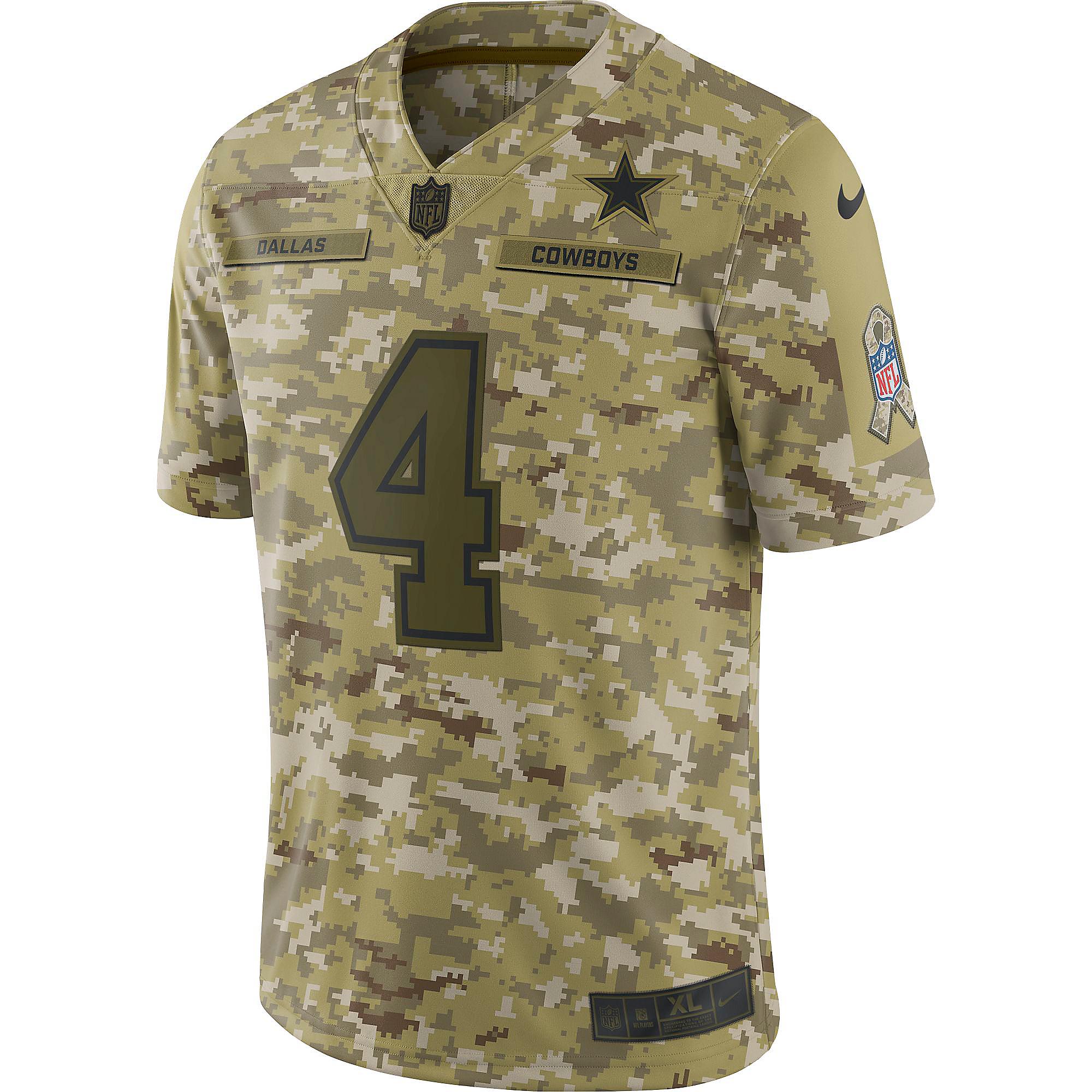 f677d9ff0d9 ... uk dallas cowboys dak prescott 4 nike limited salute to service jersey  20b4a bd822