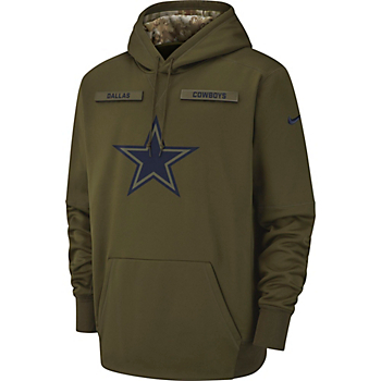 Dallas Cowboys Nike Salute to Service Therma Hoody 86bc9617b