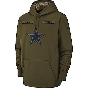 Dallas Cowboys Nike Salute to Service Therma Hoody 86bc9617b