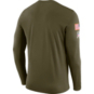 Dallas Cowboys Nike Salute to Service Legend Long Sleeve Tee