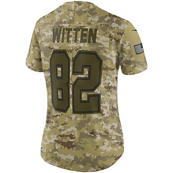 Dallas Cowboys Womens Jason Witten #82 Nike Limited Salute To Service Jersey