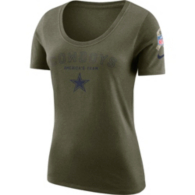 Dallas Cowboys Nike Salute to Service Womens Legend Short Sleeve Tee
