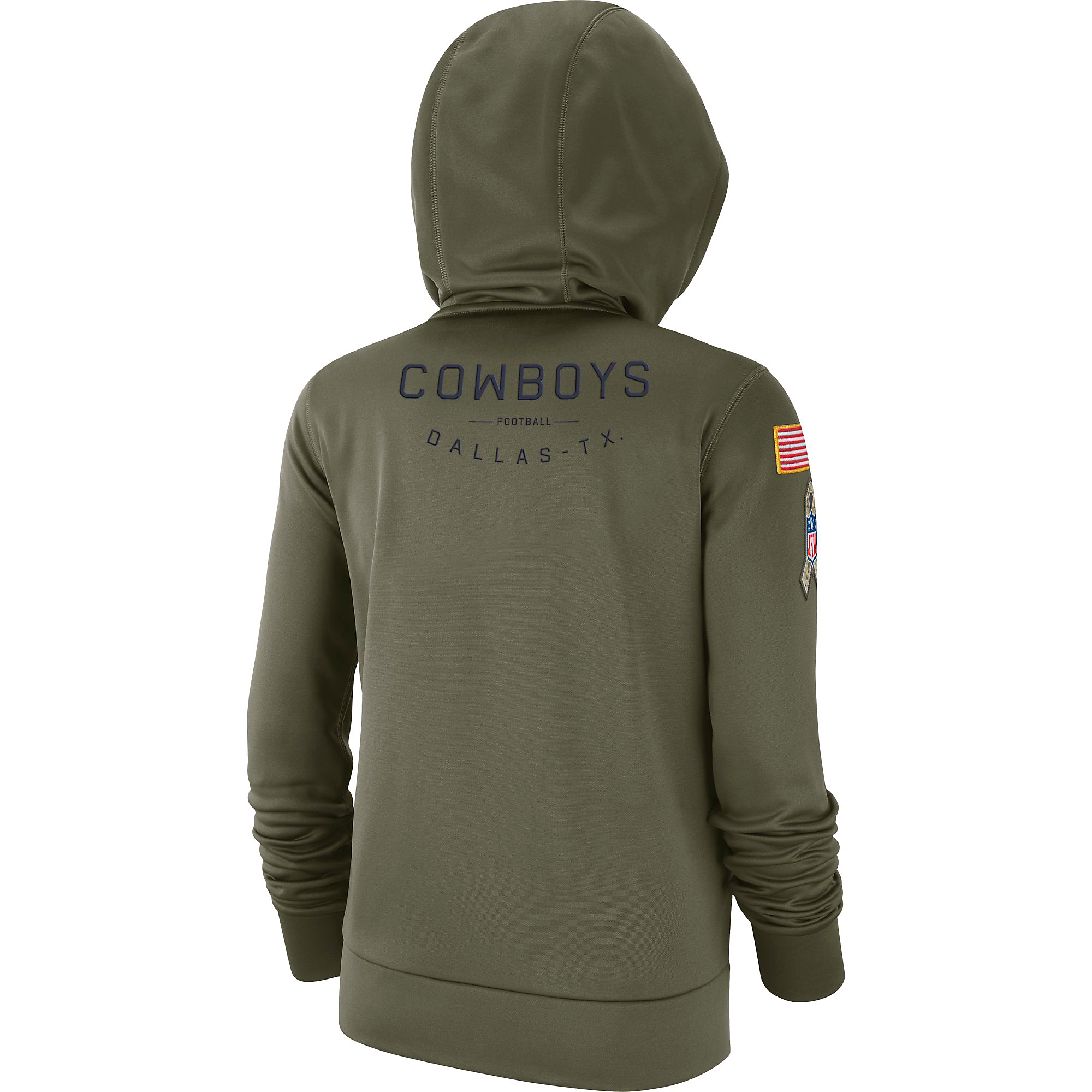 new arrival cf195 0e3ac Dallas Cowboys Nike Salute to Service Womens Therma Hoody | Fans United