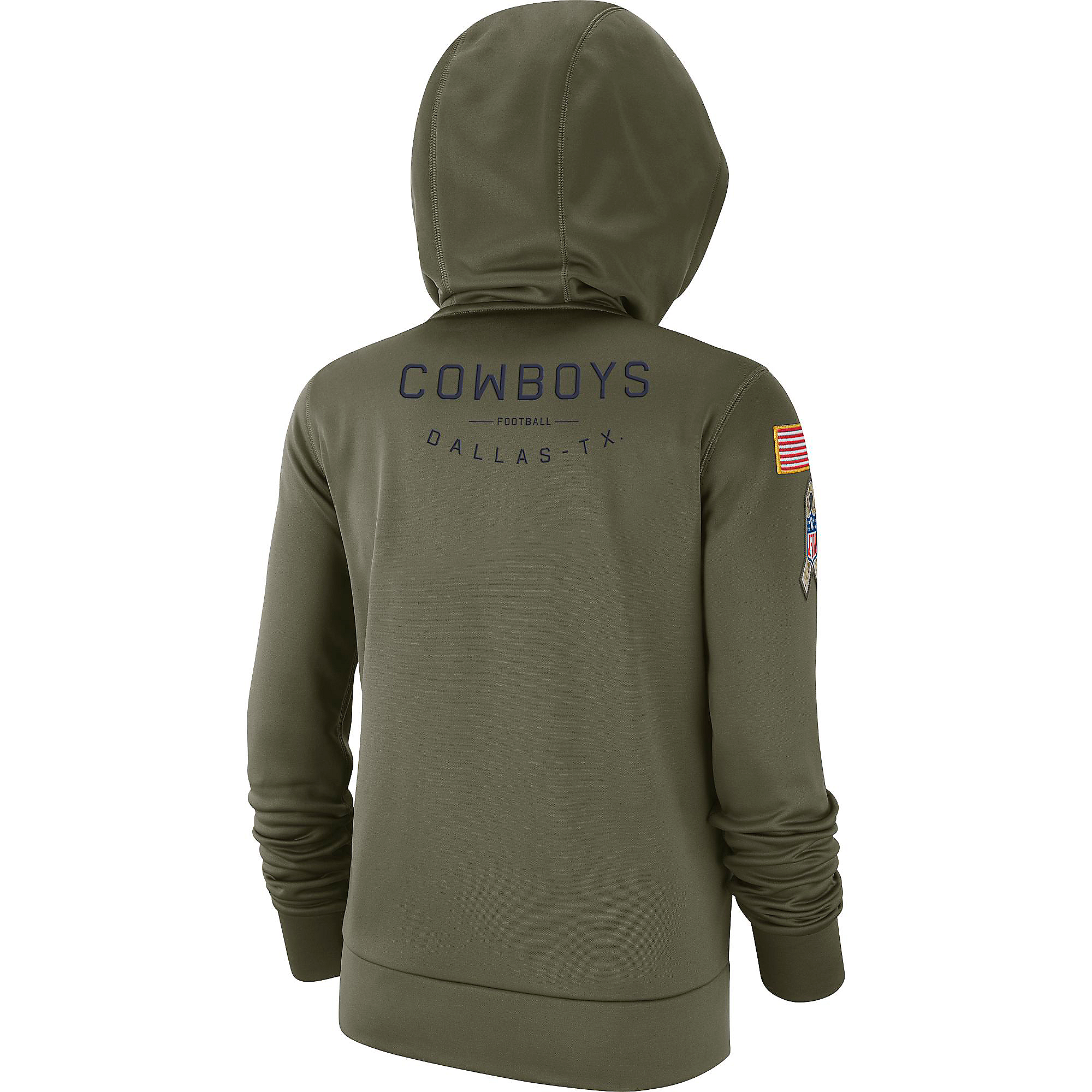 quality design 5654d 8531d Dallas Cowboys Nike Salute to Service Womens Therma Hoody | Dallas Cowboys  Pro Shop