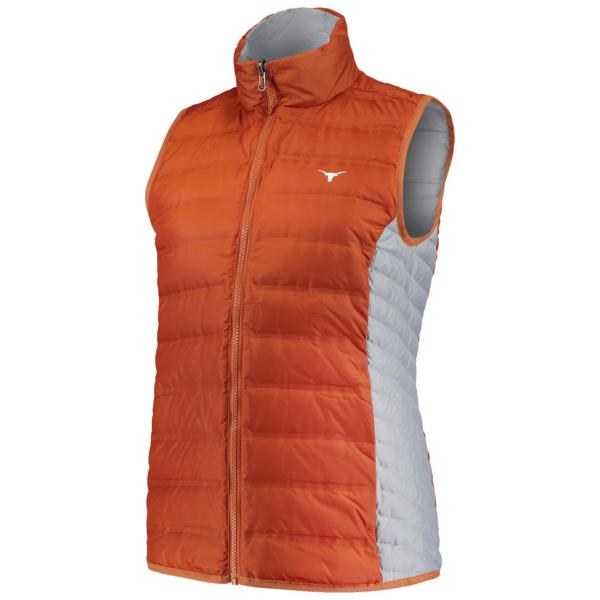 Texas Longhorns Columbia Womens Lake 22 Reversible Vest