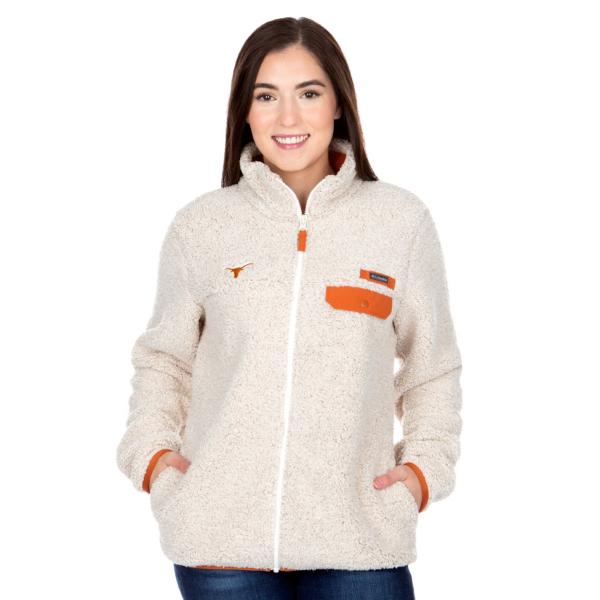 Texas Longhorns Columbia Womens Mountain Side Heavyweight Fleece Jacket