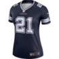 Dallas Cowboys Nike Womens Ezekiel Elliott #21 Legend Team Jersey T-Shirt
