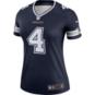 Dallas Cowboys Nike Womens Dak Prescott #4 Legend Team Tee