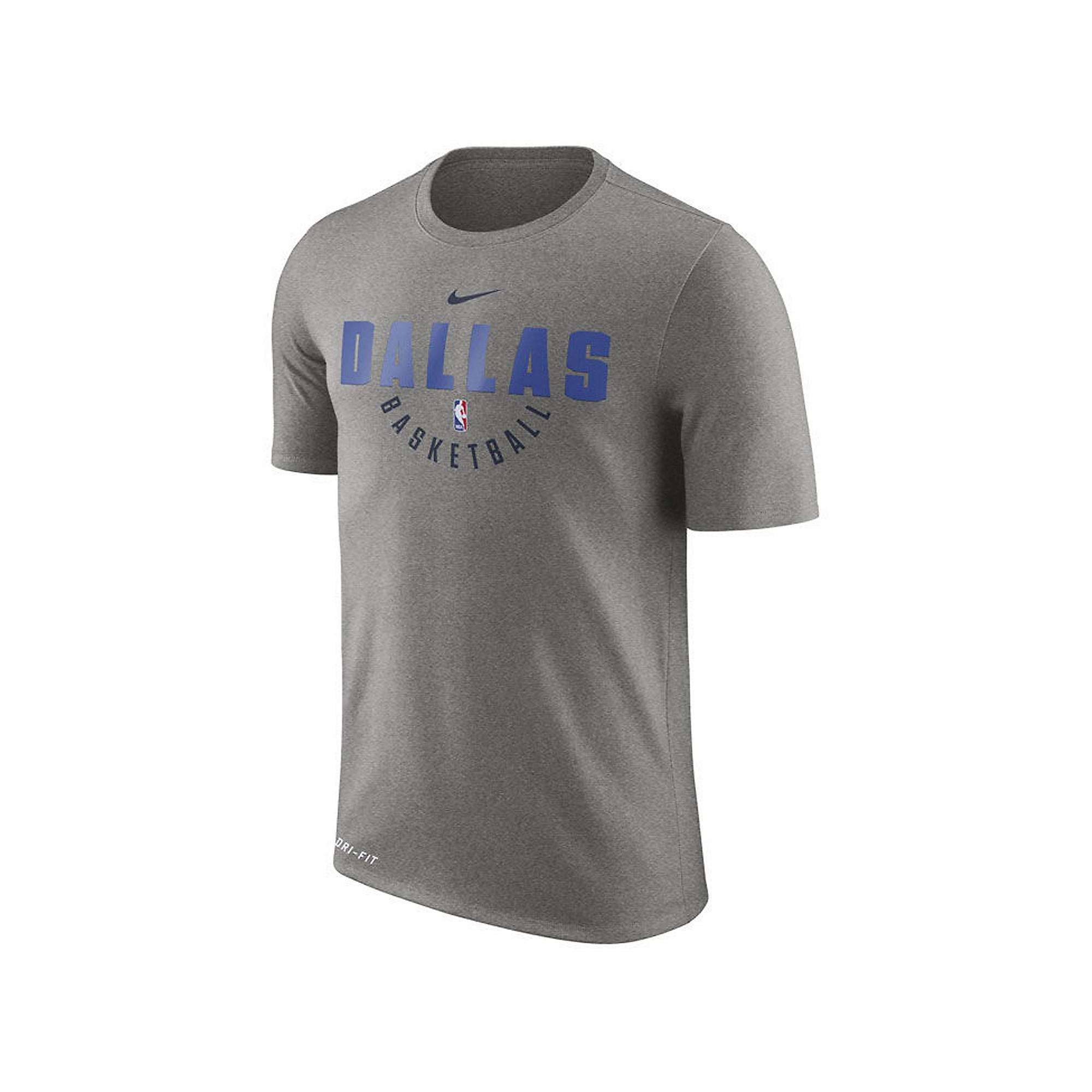 Dallas Mavericks Nike Dri-FIT Practice Short Sleeve T-Shirt