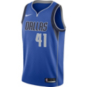 Dallas Mavericks Dirk Nowitzki Nike Royal Replica Swingman Road Jersey