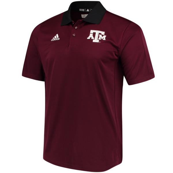 Texas A&M Aggies adidas Coaches Polo