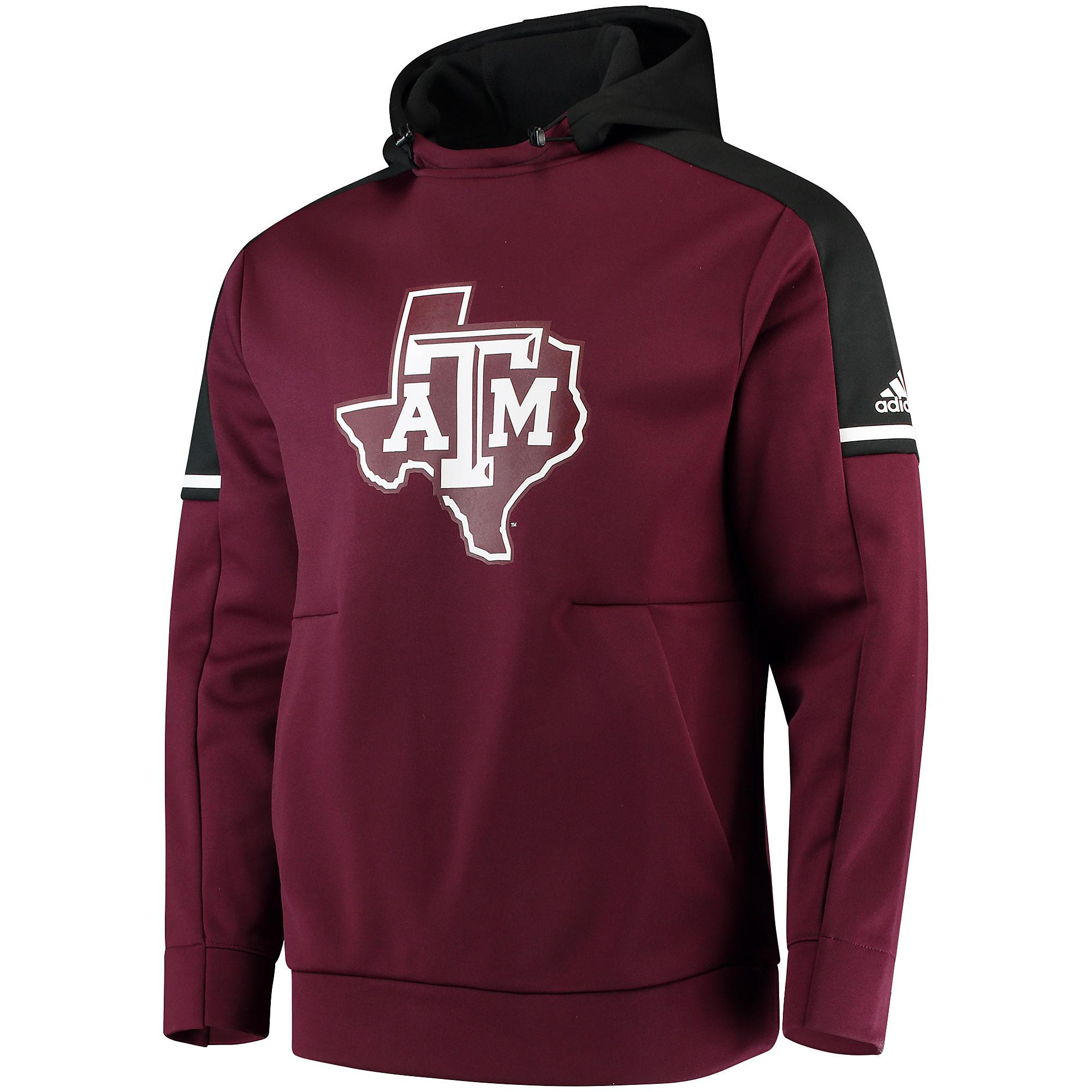 Texas A&M Aggies adidas Sideline Player Hoody