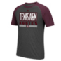 Texas A&M Aggies adidas Linear Stacked Tee