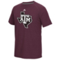 Texas A&M Aggies adidas White Noise Team Logo Tee