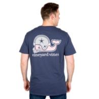 Dallas Cowboys Vineyard Vines Whale Helmet Tee