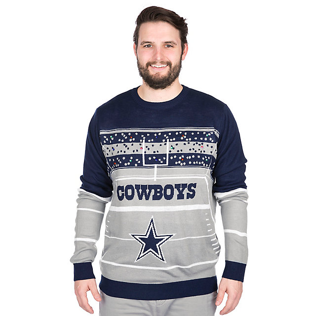 Dallas Cowboys Light Up Ugly Sweater