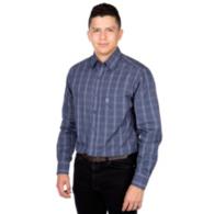 Dallas Cowboys Antigua Agent Long Sleeve Button Down Shirt