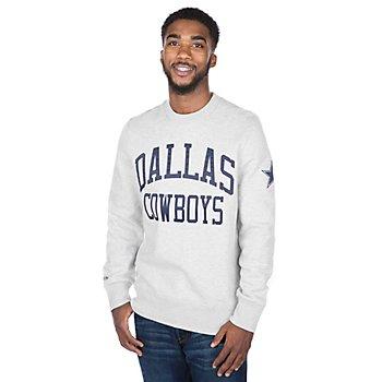 Dallas Cowboys Mitchell & Ness Playoff Win Sweatshirt