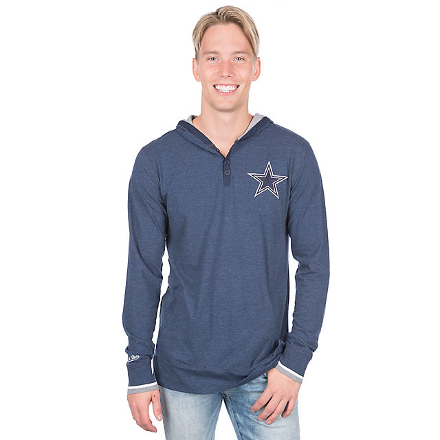 Dallas Cowboys Mitchell & Ness Seal the Win Tee