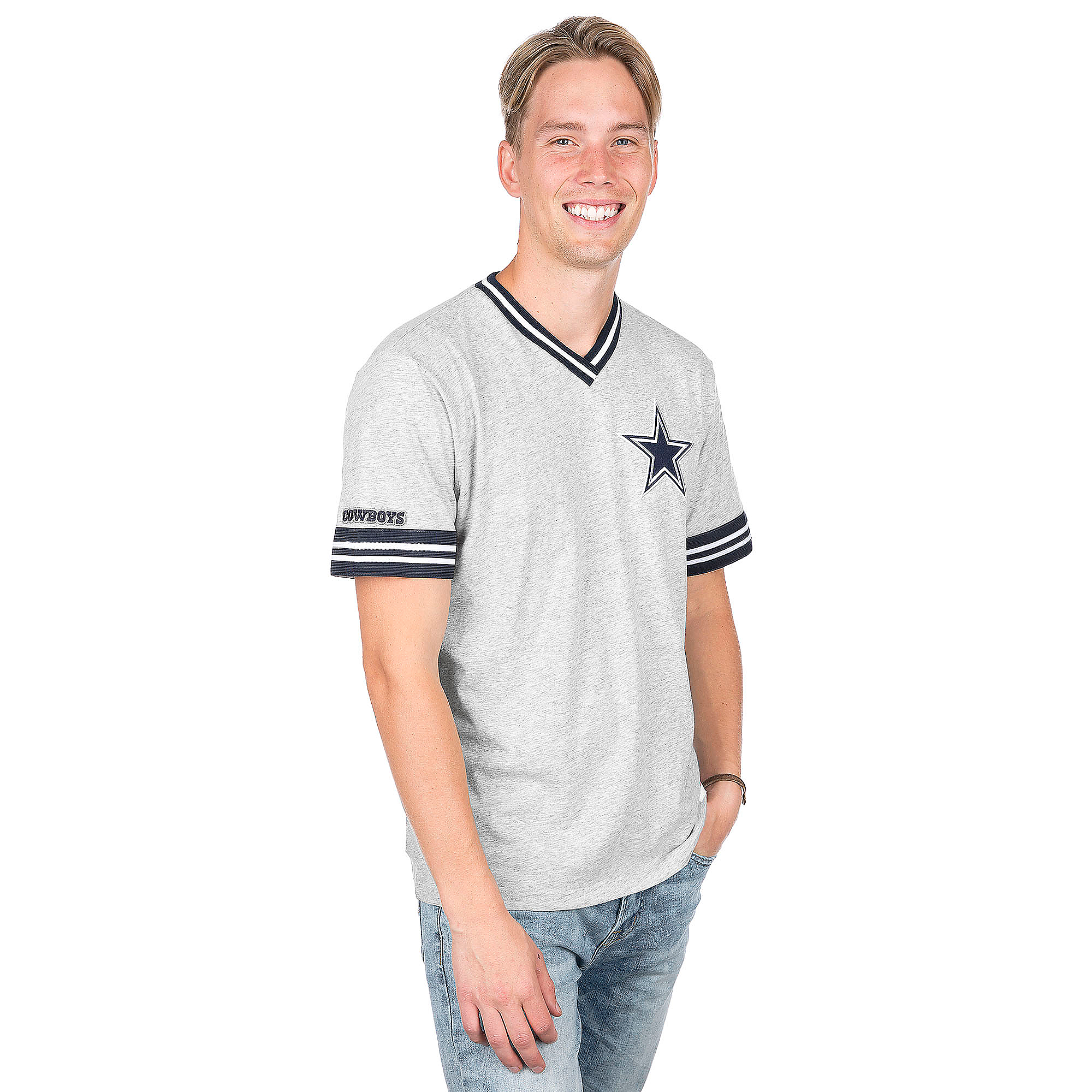 Dallas Cowboys Mitchell & Ness Win Vintage Tee