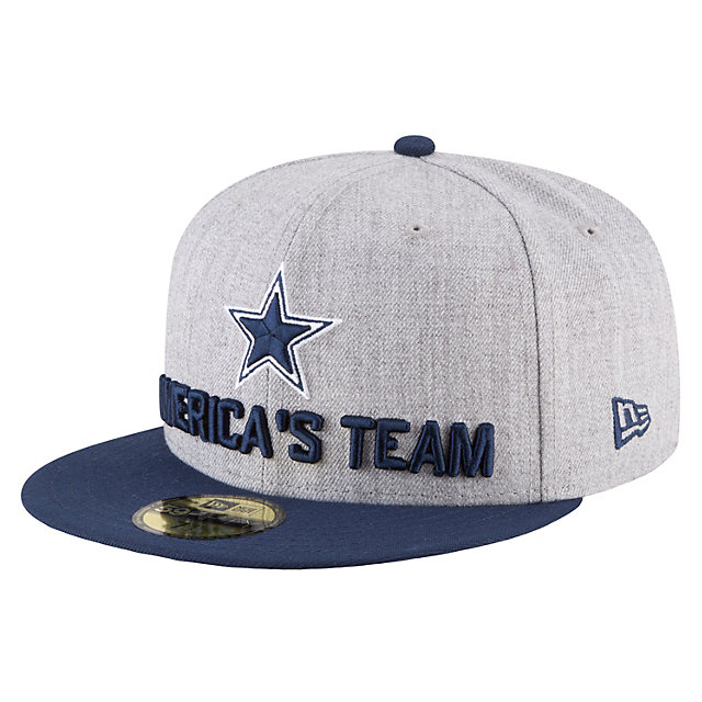 Dallas Cowboys New Era 2018 Draft Mens 59Fifty Cap