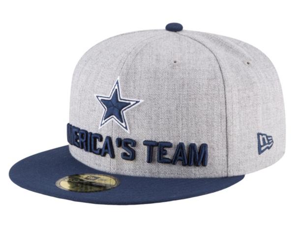 Dallas Cowboys New Era 2018 Draft Mens 59Fifty Cap