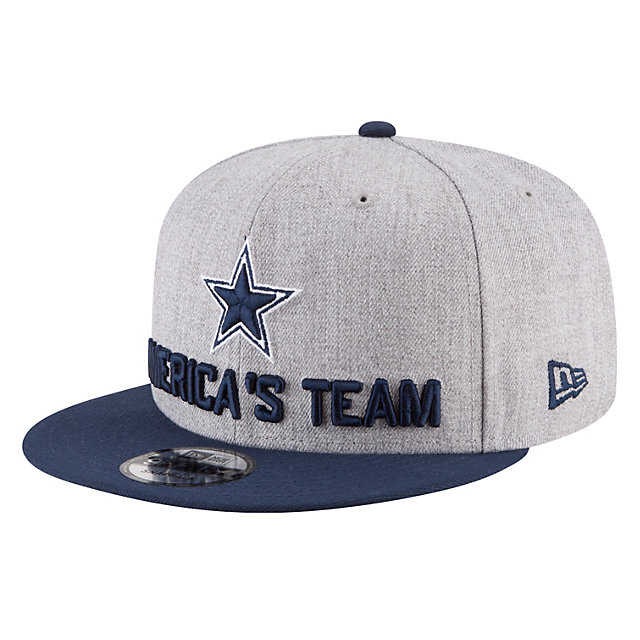 Dallas Cowboys New Era 2018 Draft Mens 9Fifty Cap