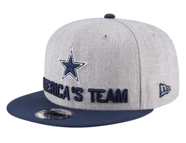 Dallas Cowboys New Era 2018 Draft Mens 9Fifty Cap