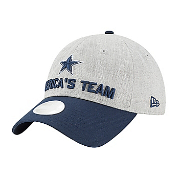 Dallas Cowboys New Era 2018 Draft Womens 9Twenty Cap