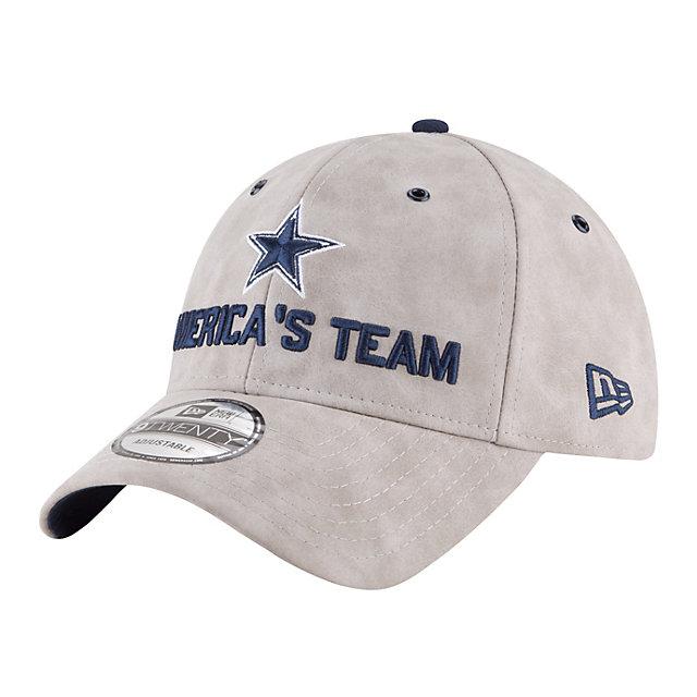 Dallas Cowboys New Era 2018 Draft Mens Premium 9Twenty Cap