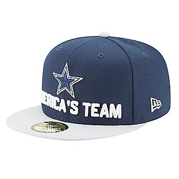 Dallas Cowboys New Era 2018 Draft Mens Fan Gear 59Fifty Hat
