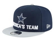 Dallas Cowboys New Era 2018 Draft Mens Fan Gear 9Fifty Cap