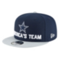 Dallas Cowboys New Era 2018 Draft Mens Fan Gear 9Fifty Cap