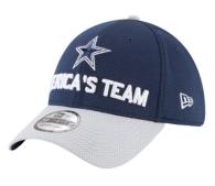 Dallas Cowboys New Era 2018 Draft Mens Fan Gear 39Thirty Cap