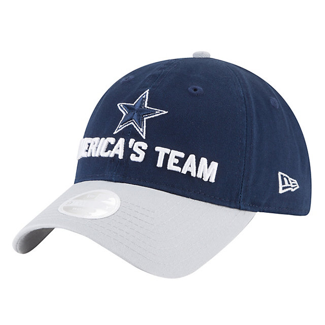 Dallas Cowboys New Era 2018 Draft Womens Fan Gear 9Twenty Cap