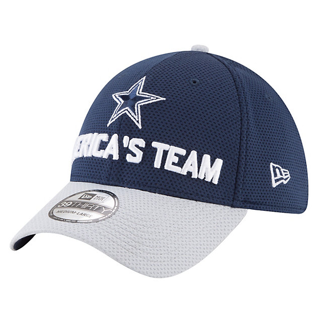 Dallas Cowboys New Era 2018 Draft Jr Fan Gear 39Thirty Cap