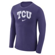 TCU Horned Frogs Nike Marled Long Sleeve Tee