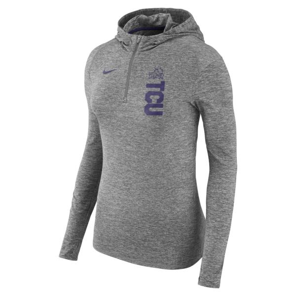 TCU Horned Frogs Womens Nike Dry Element Hoody