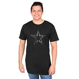 Dallas Cowboys Clear Premier Long Body Urban Tee
