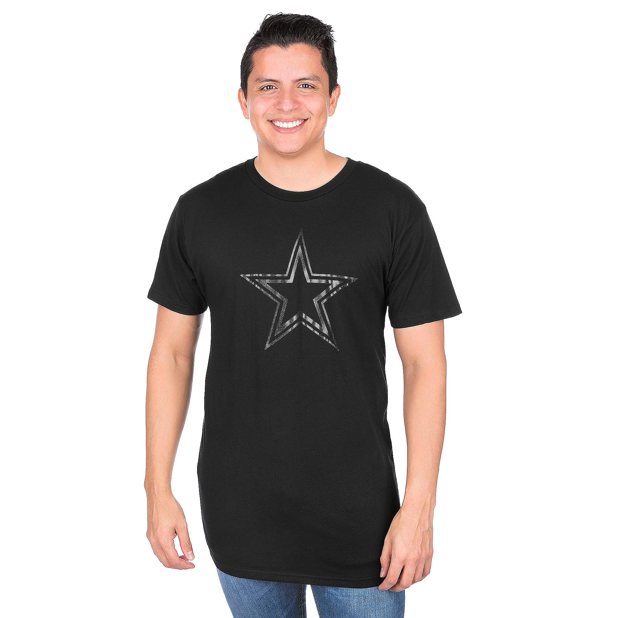 Dallas Cowboys Clear Premier Long Body Urban Tee