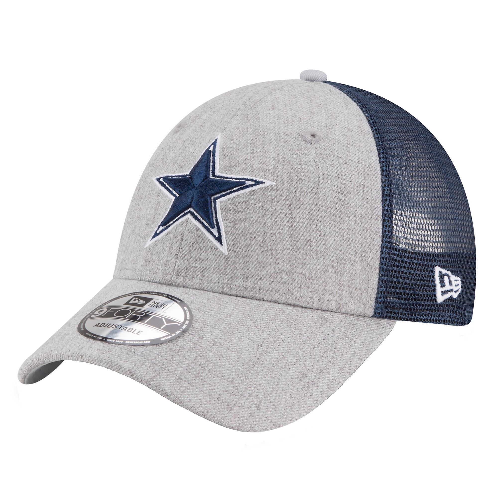 Dallas Cowboys New Era Heather Turn 9Forty Cap