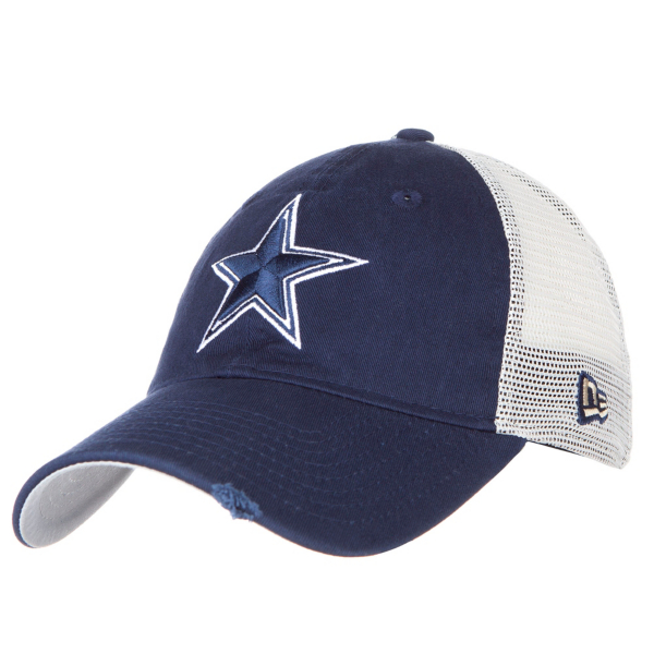 Dallas Cowboys New Era Stated Back Trucker 9Twenty Cap