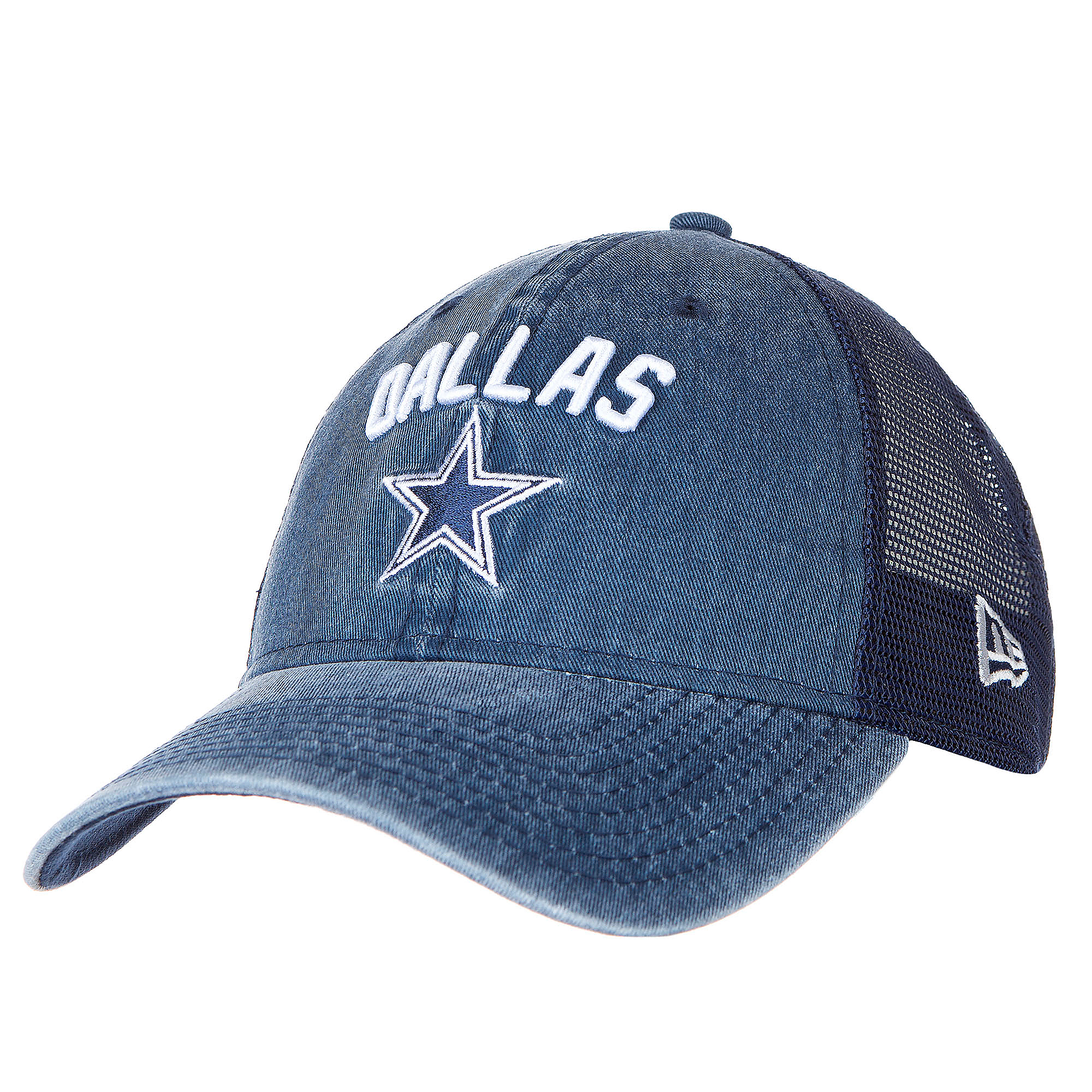 Dallas Cowboys New Era Rugged Stack Trucker 9Twenty Cap