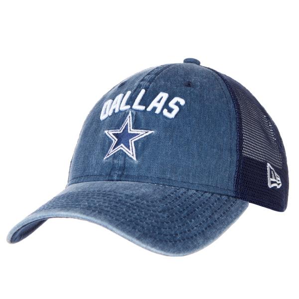 Dallas Cowboys New Era Rugged Stack Trucker 9Twenty Cap